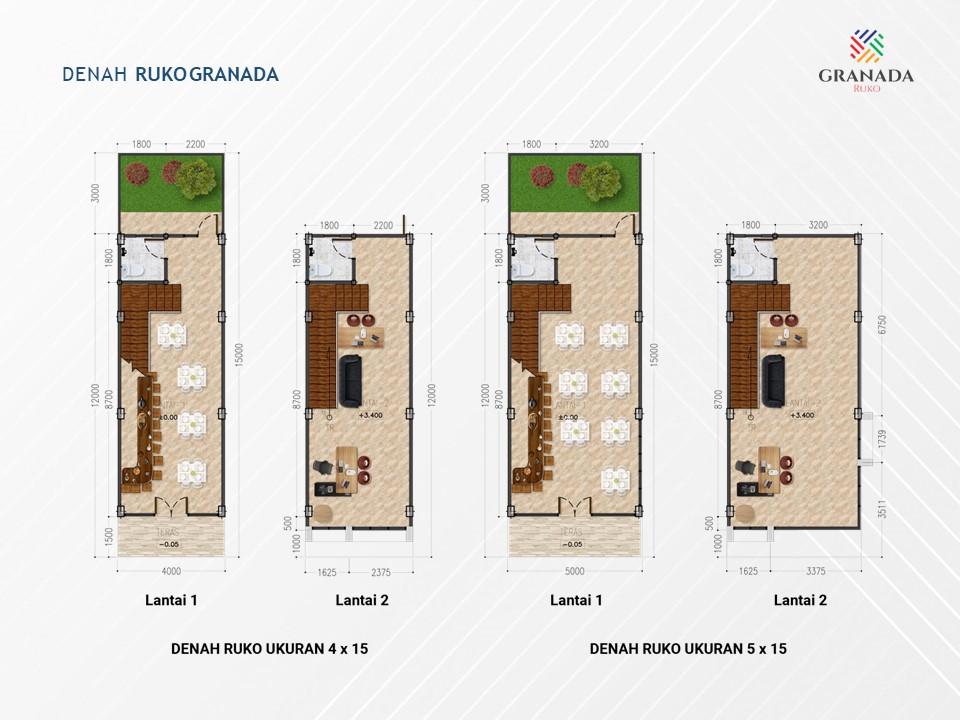 Denah-Lantai-Ruko-Granada